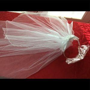 🆕WHITE WEDDING VEIL